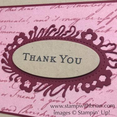Path of Petals Bundle, Stampin' Up!, Brian King