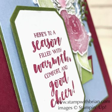 First Frost, Frosted Bouquet Dies, Stampin' Up!, Brian King