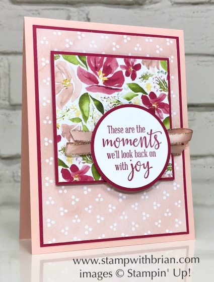 Peaceful Moments, Best Dressed Designer Series Paper, Stampin' Up!, Brian King