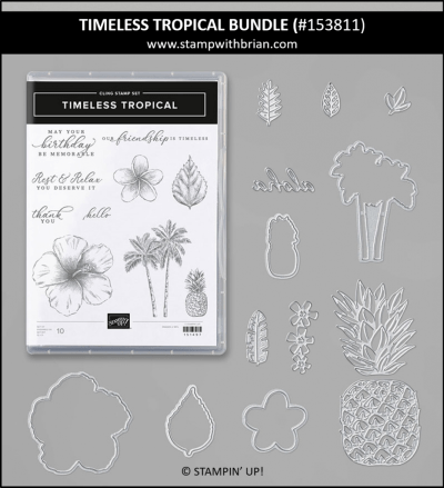 Timeless Tropical Bundle, Stampin' Up! 153811