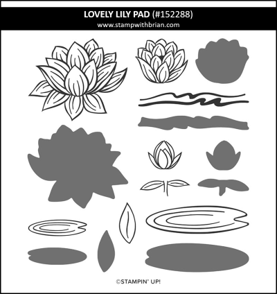 Lovely Lily Pad, Stampin' Up! 152288