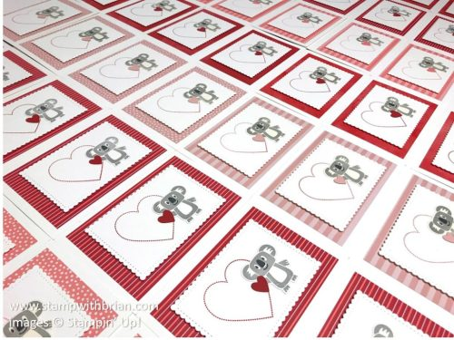 Bonanza Buddies, Heartfelt, Stampin Up!, Brian King, Valentines