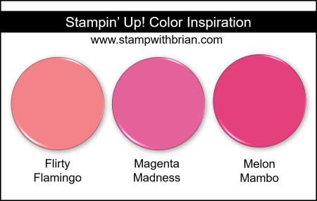 Magenta Madness Color Comparisons, Stampin Up!