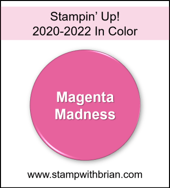 Magenta Madness, Stampin Up! 2020-2022 In Color