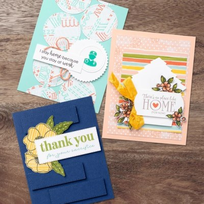 Share Sunshine PDF, Stampin Up!, samples