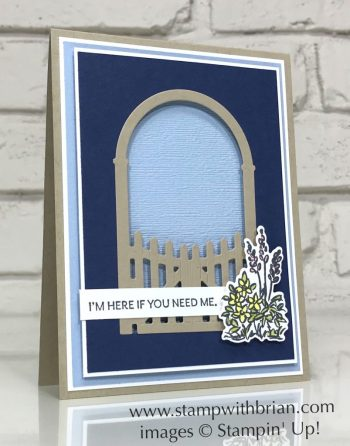 Grace's Garden Bundle, Here's a Card, Stampin Up!, Brian King