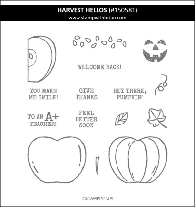 Harvest Hellos, Stampin Up! 150581