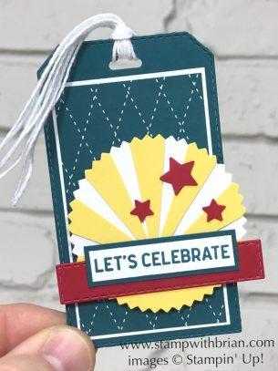 Itty Bitty Birthdays, Starburst Punch, Stampin Up!, Brian King
