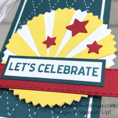 Itty Bitty Birthdays, Starburst Punch, Stampin Up!, Brian King