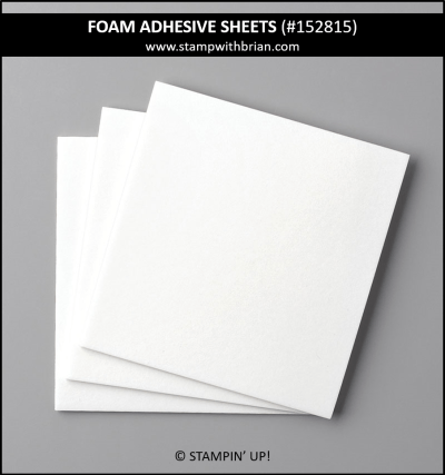 Foam Adhesive Sheets, Stampin Up!, 152815