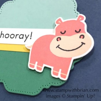 Hippo Happiness Bundle, Stampin Up! Brian King