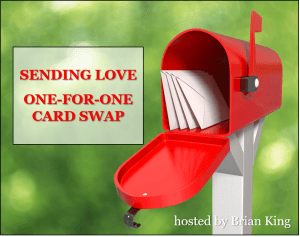 Sending Love One-for-One Card Swap