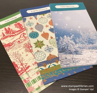 August - December 2020 Mini Catalog Swatch Books - Returning Faves, Stampin Up!, Brian King