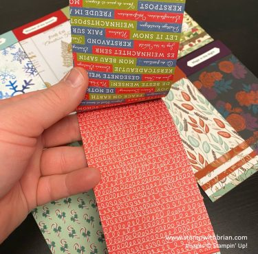 August - December 2020 Mini Catalog Swatch Books, Stampin Up!, Brian King 2