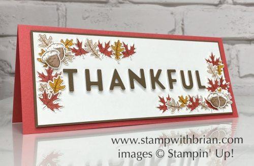 Beautiful Autumn Bundle, Stampin Up!, Brian King