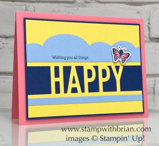 Happy Dies, Hippo Happiness Dies, Stampin Up!, Brian King