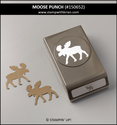 Moose Punch, Stampin Up! 150652