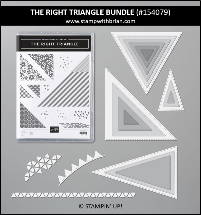 The Right Triangle Bundle, Stampin Up! 154079