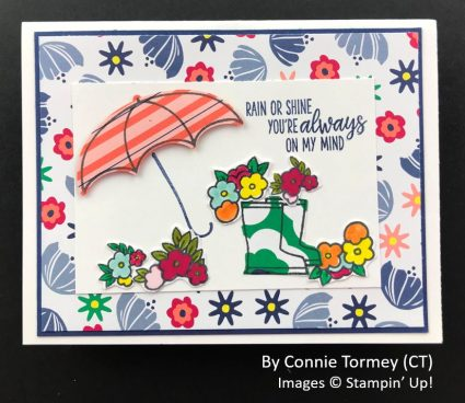 by Connie Tormey, Sending Love One-for-One Card Swap, Stampin Up!