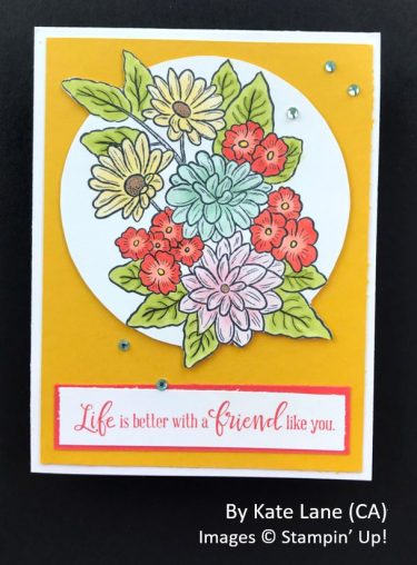 by Kate Lane, Sending Love One-for-One Card Swap, Stampin Up!