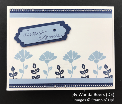 by Wanda Beers, Sending Love One-for-One Card Swap, Stampin Up!