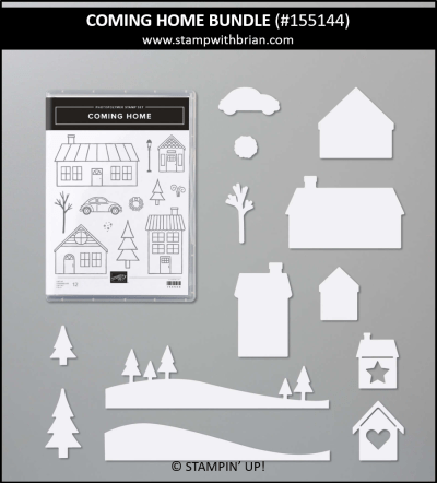Coming Home Bundle, Stampin Up! 155144