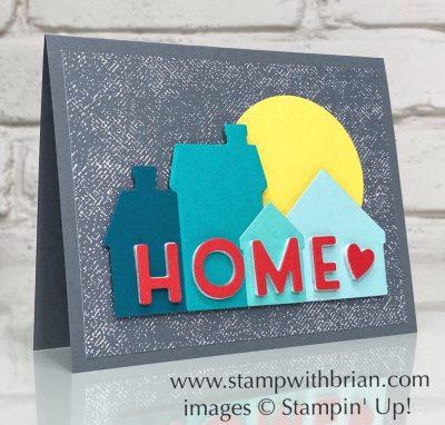 Home Together Dies, Playful Alphabet Dies, Stampin Up!, Brian King