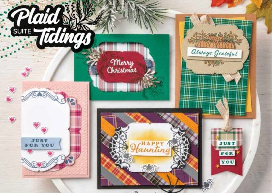 Plaid Tidings Suite, Stampin Up!