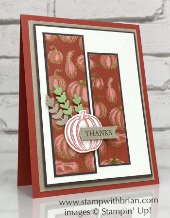 Gather Together, Gilded Autumn, Stampin Up!, Brian King