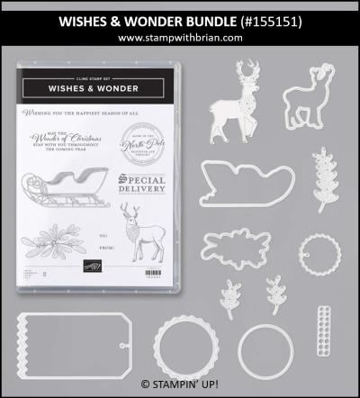 WIshes & Wonder Bundle, Stampin Up!, 155151