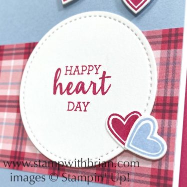 Arrange a Wreath, Stampin Up!, Brian King, Valentines Day Card