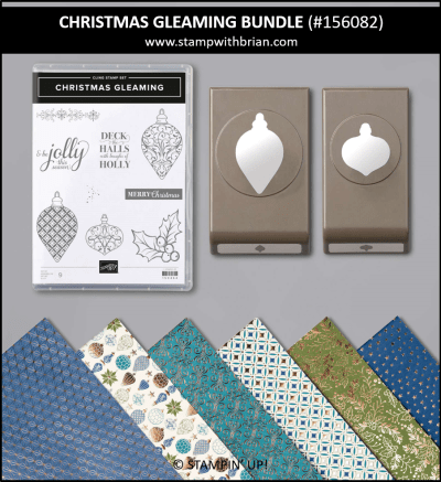 Christmas Gleaming Bundle, Stampin Up! 156082