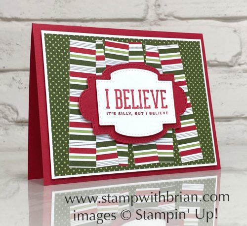 Christmas Means More, Heartwarming Hugs, Stampin Up!, Brian King