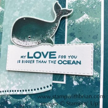 Whale Done, Stampin Up!, Brian King