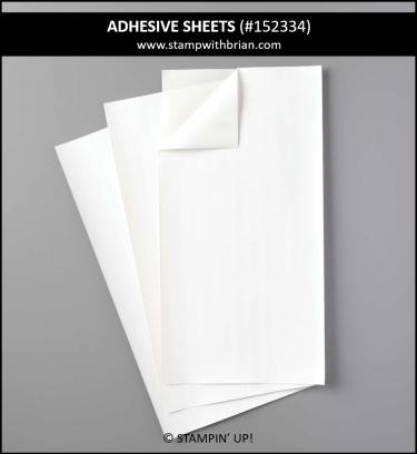 Adhesive Sheets, Stampin Up! 152334