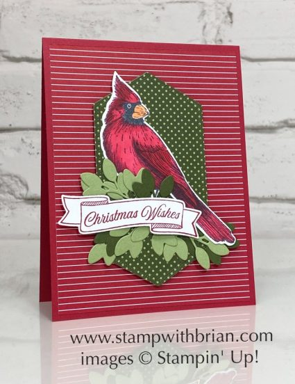 Toile Christmas, Stampin Up!, Brian King