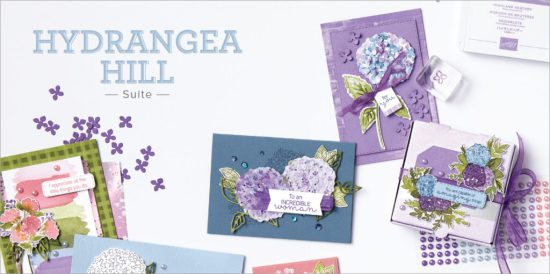 Hydrangea Hill Suite, Stampin Up!, Brian King