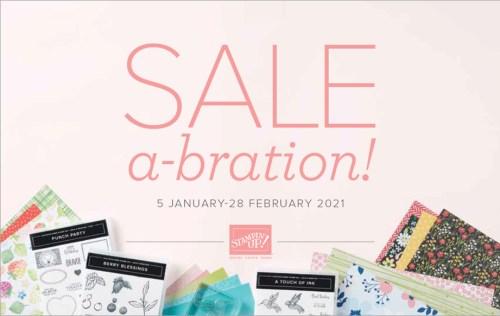 Sale-a-Bration 2021 Catalog Stampin Up!