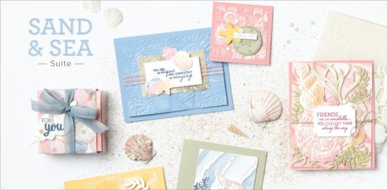 Sand and Sea Suite, Stampin Up!, Brian King