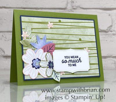 In Bloom Bundle, Pierced Bloom Dies, Paper Blooms Designer Series Paper, Stampin Up!, Brian King