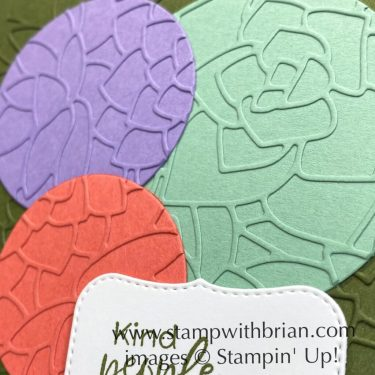 Simply Succulents Bundle, Stampin Up!, Brian King