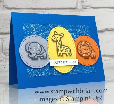 Baby Pull Toys, Stampin Up!, Brian King