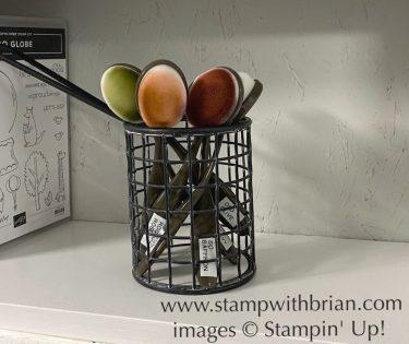 Blending Brushes Storage, Stampin Up!, Brian King