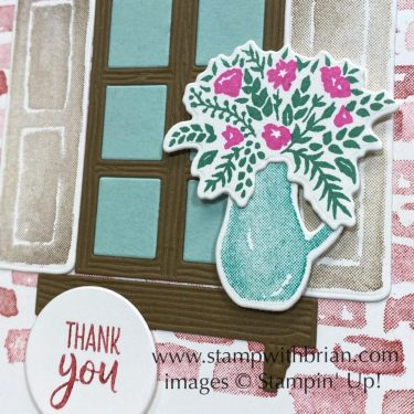 Welcoming Window, Stampin Up!, Brian King