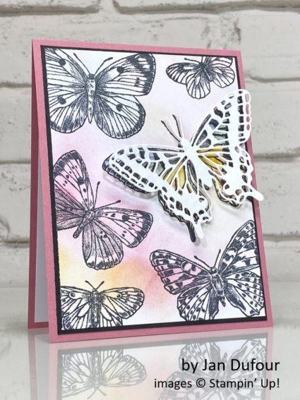Butterfly Brilliance, Stampin Up!, by Jan Dufour