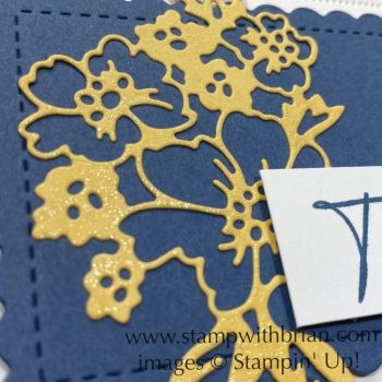 Hand-Penned Petals Bundle, Scalloped Contours Dies, Stampin Up!, Brian King, thank you card