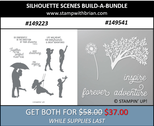 Silhouette Scenes Build-a-Bundle, Stampin Up!