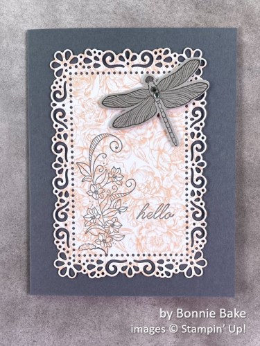 by Bonnie Bake, Stampin Up!, swap card