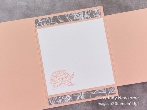 by Judy Newsome, Stampin Up!, swap card 3