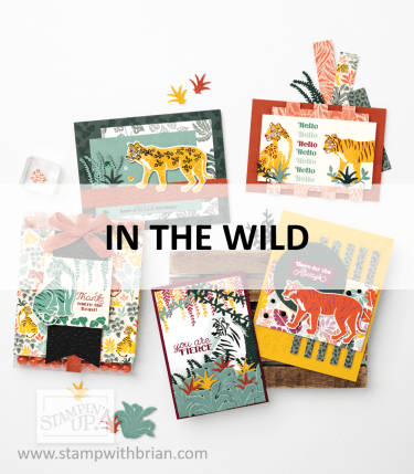 In the Wild Suite, Stampin Up! 2021 Annual Catalog